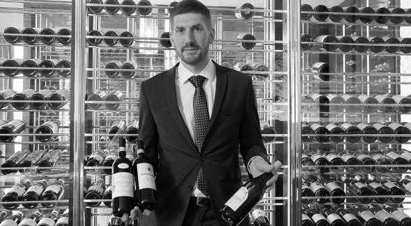 Fabio Borgianni, Quadrum restaurant manager, Four Seasons Moscow